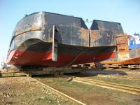 Split hopper barge charter