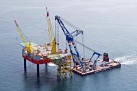 Conway Oil platform job
