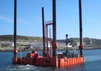 Towage of jack up barge