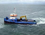 Shallow draft push tug for sale