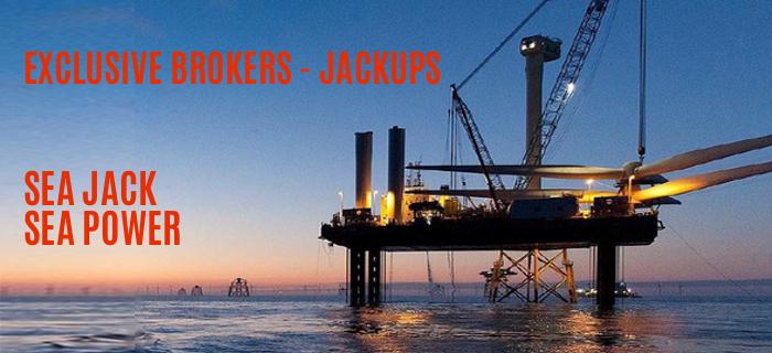 exclusive brokers for jackups