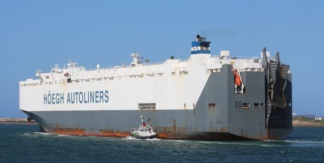 Hoegh Autoliners car carrier