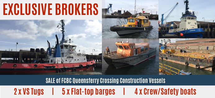 DSB Offshore sale of vessels