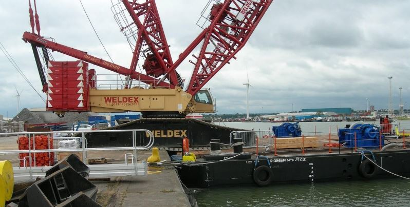 Pontoons sold to Thames Tideway Tunnel