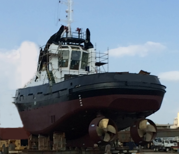 Sister 40 tbp Damen 2509 ASD tugs for sale