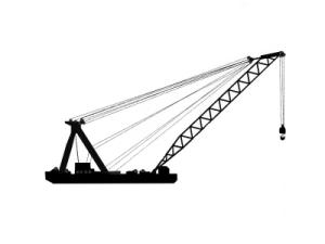 crane barge for sale