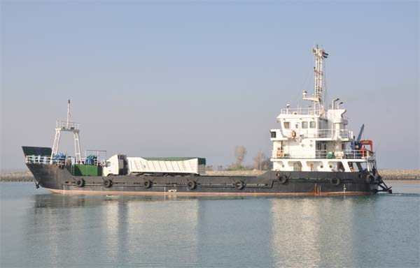 Landing craft for sale / High quality, 47m