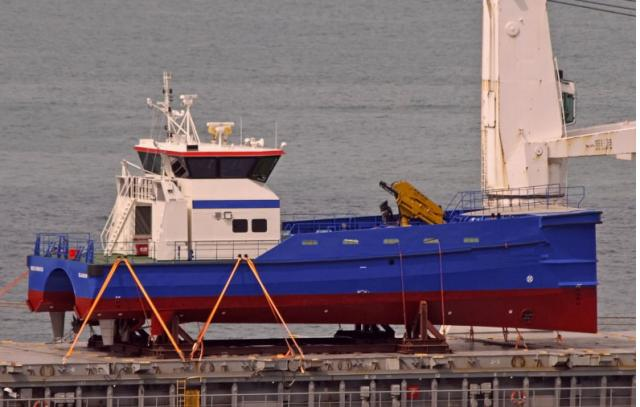 Crew transfer vessel for charter / 15m, MPC-built, flexible pod system