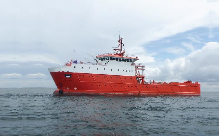 Multipurpose Accommodation Vessel E-Class / Built 2014 / 66 x 13m