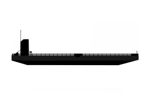 SUBMERSIBLE BARGE FOR CHARTER / 100 X 45M / SUBMERGES TO 19m