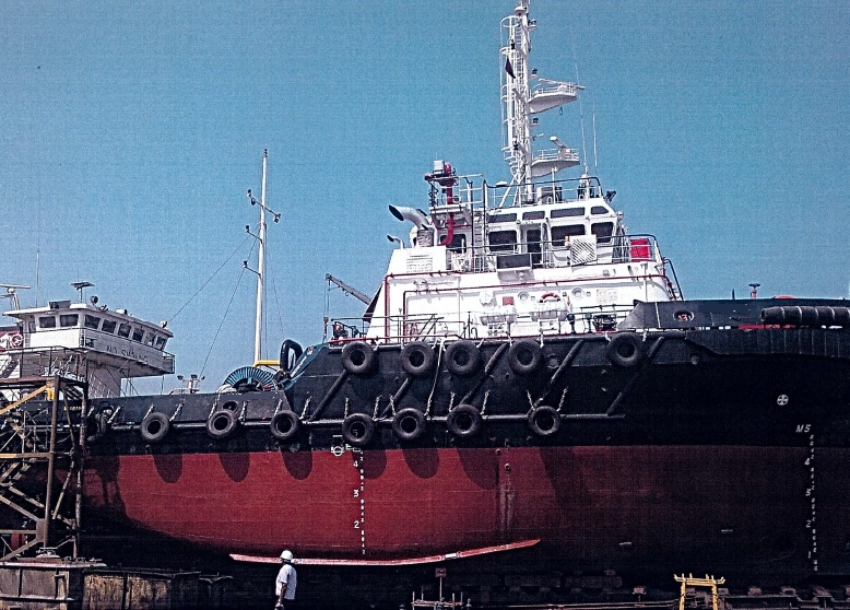 Twin screw tug for sale / 52 tbp / Ocean going anti pollution oil recovery