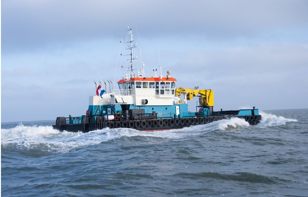 DP1 Shallow draft support vessel for charter / 39tbp