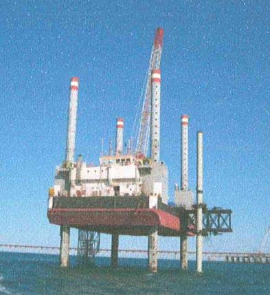 Jackup for sale / 50 x 29m, 65m legs / payload 1,500t