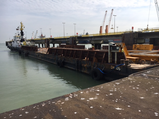 flat-top barge for sale