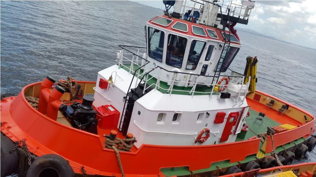 tug boat deck