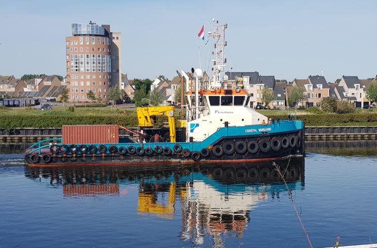 Shoalbuster tugboat
