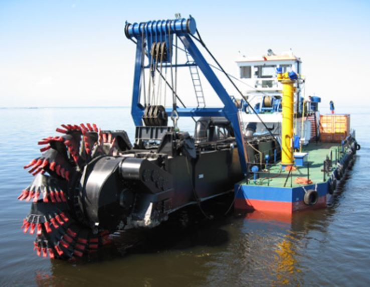 CSD Wheel dredger